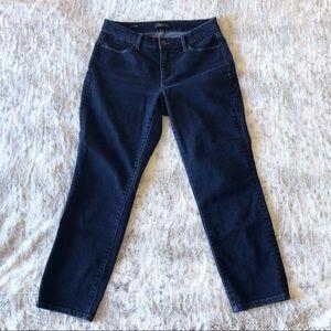 Talbots Slim Ankle Curvy Five Pocket Jean